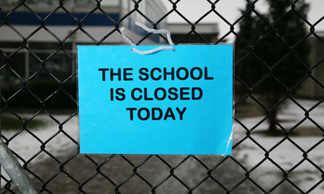 This School Is Closed!